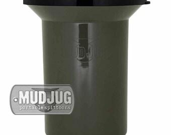 New Olive Drab Roadie MudJug Portable Spittoon - NEW