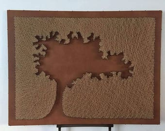 Tree style leather