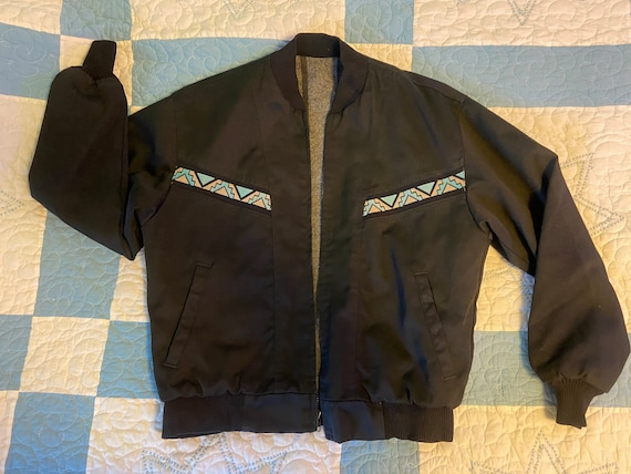 Vintage Western Jacket Men's Insulated Jacket Size