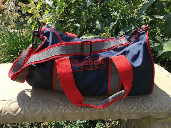 6e7e5ca09735 Vintage Duffel Bag Vintage Reebok Vintage Gym Bag Vintage