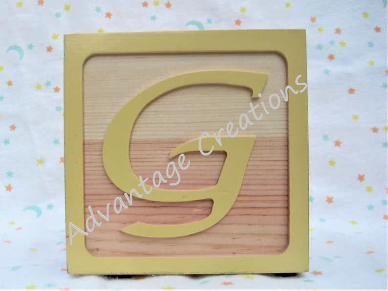 Guitar: 4 alphabet picture frame wood block keepsake for newborn Z. Available A wedding or other special occasions Great baby gift