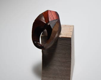Wooden Pinky Ring