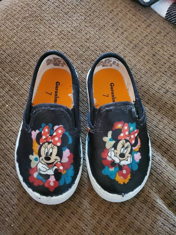 Minnie mouse shoes | Etsy