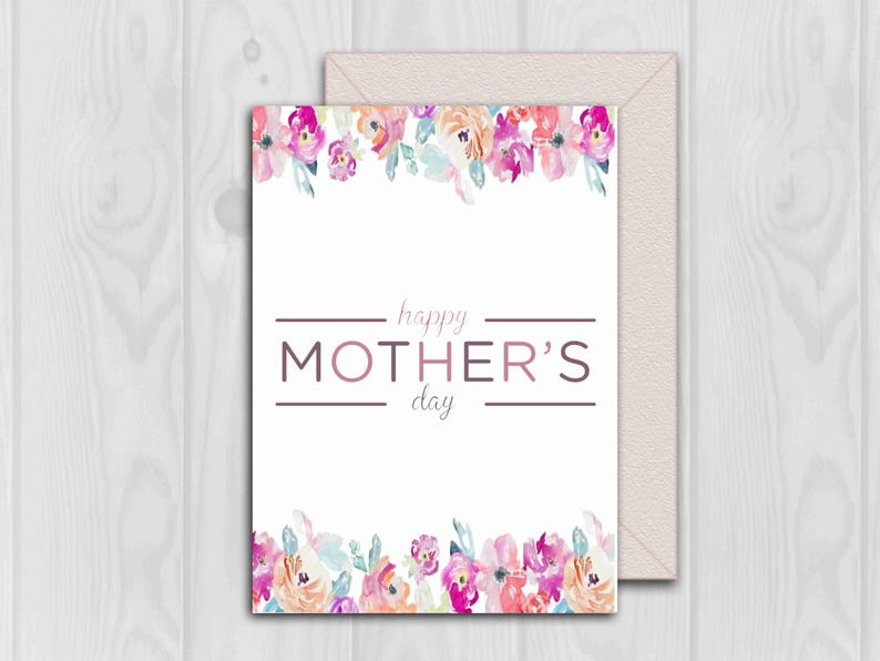 image about Happy Mothers Day Printable Card identified as Moms Working day Printable Card, Printable Card For Mother, Card For Mother, Pleased Moms Working day, PDF Document, Instantaneous Obtain, Card With Bouquets, Print
