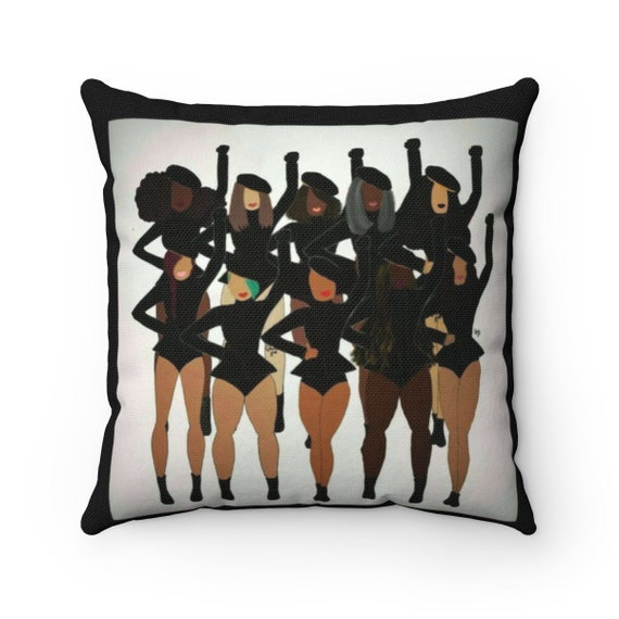 Get In Formation Spun Polyester Square Pillow