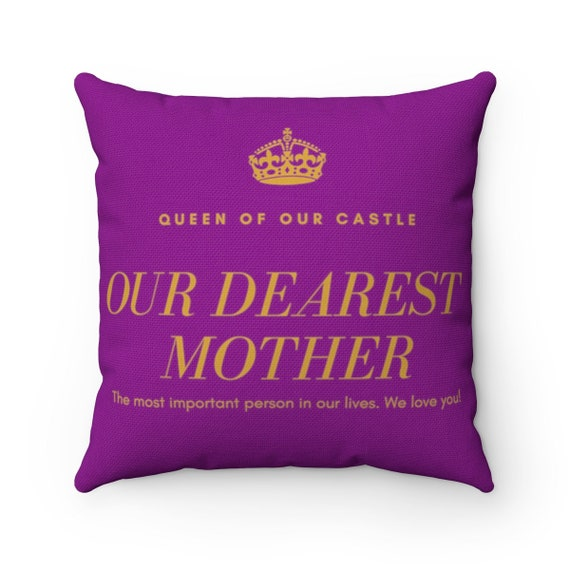 Mother Appreciation Spun Polyester Square Pillow