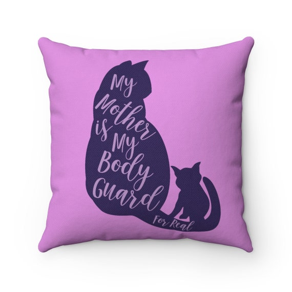 Cat Lover's Spun Polyester Square Pillow