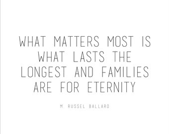 Eternal family lds | Etsy