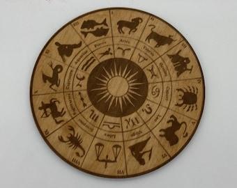 Zodiac Wheel Crystal Grid