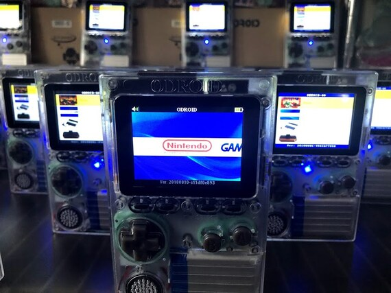 Odroid Go with all Games and Artwork + EXTRAS! This is the Newest Version!!  Sega, Nintendo, Atari, and DOOM!!