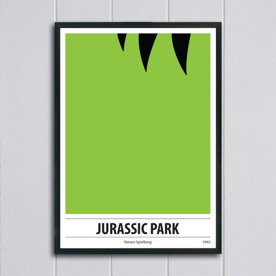 JURASSIC PARK Movie PHOTO Print POSTER Textless Film Art Steven Spielberg 002