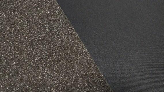 "Dark Gray Upholstery Headliner Fabric 3//16/"" Foam Backed 90/""L X 60/""W Auto Pro"