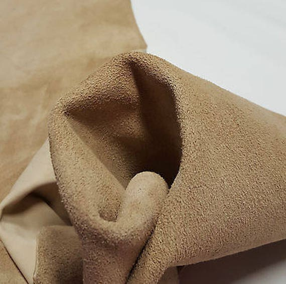 Leather Cow Hide Boot Leather Tan Beige Crafts 25 Sqft Upholstery Cowhides TS-3