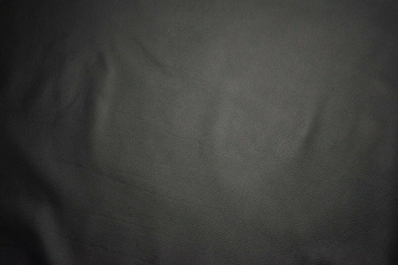 Phantom Black Leather Cow Hide Cowhide Premium Quality Upholstery Avg 40 sqft