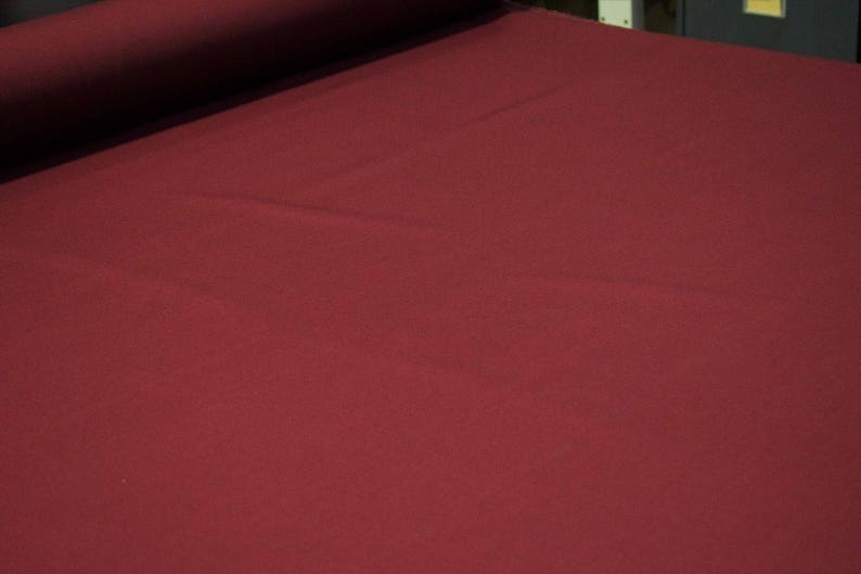 Burgundy Wine NYCO Ripstop Fabric 68W Apparel Durable Nylon Cotton Blend