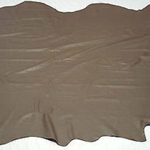 Leather Cowhide Light Caramel Avg 23 Sq Ft Upholster Automotive