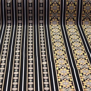 "Black Cotton Poly Platform Cloth Heavy Canvas Decking Fabric 32/""W Upholstery"