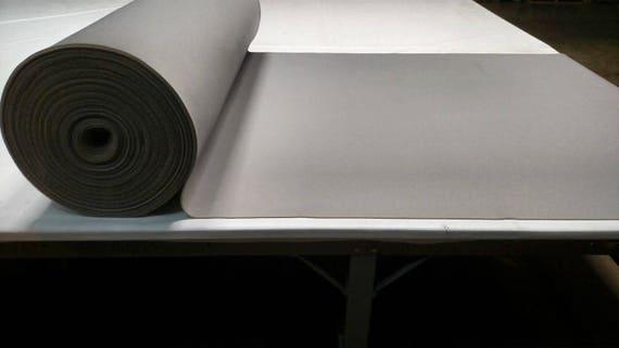 Black Auto Headliner 3//16 Foam Backing Fabric Material 72 X 60