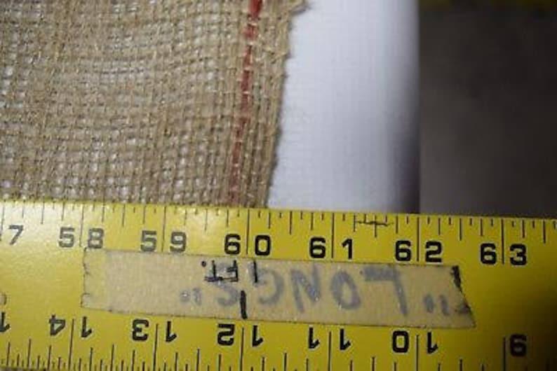 8 oz Burlap Natural Fiber Vintage 100/% Jute Upholstery Fabric 60 Wide BTY