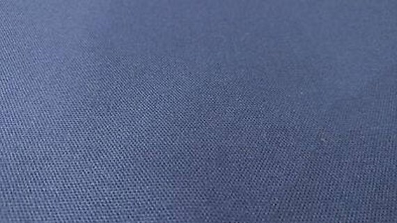 """Cotton Canvas Duck Fabric Cadet Gray By The Yard 56/"""" W Upholstery DWR Soft"""
