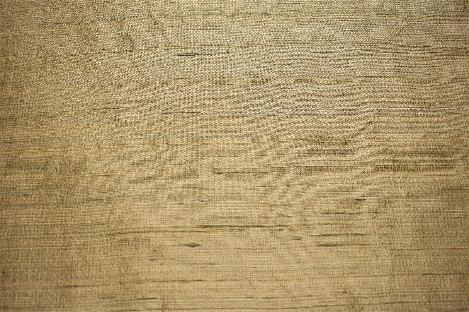 "Gold Sand Drapery 100/% Silk Fabricut Shalini Sahara Fabric 54/""W Textured FC14"