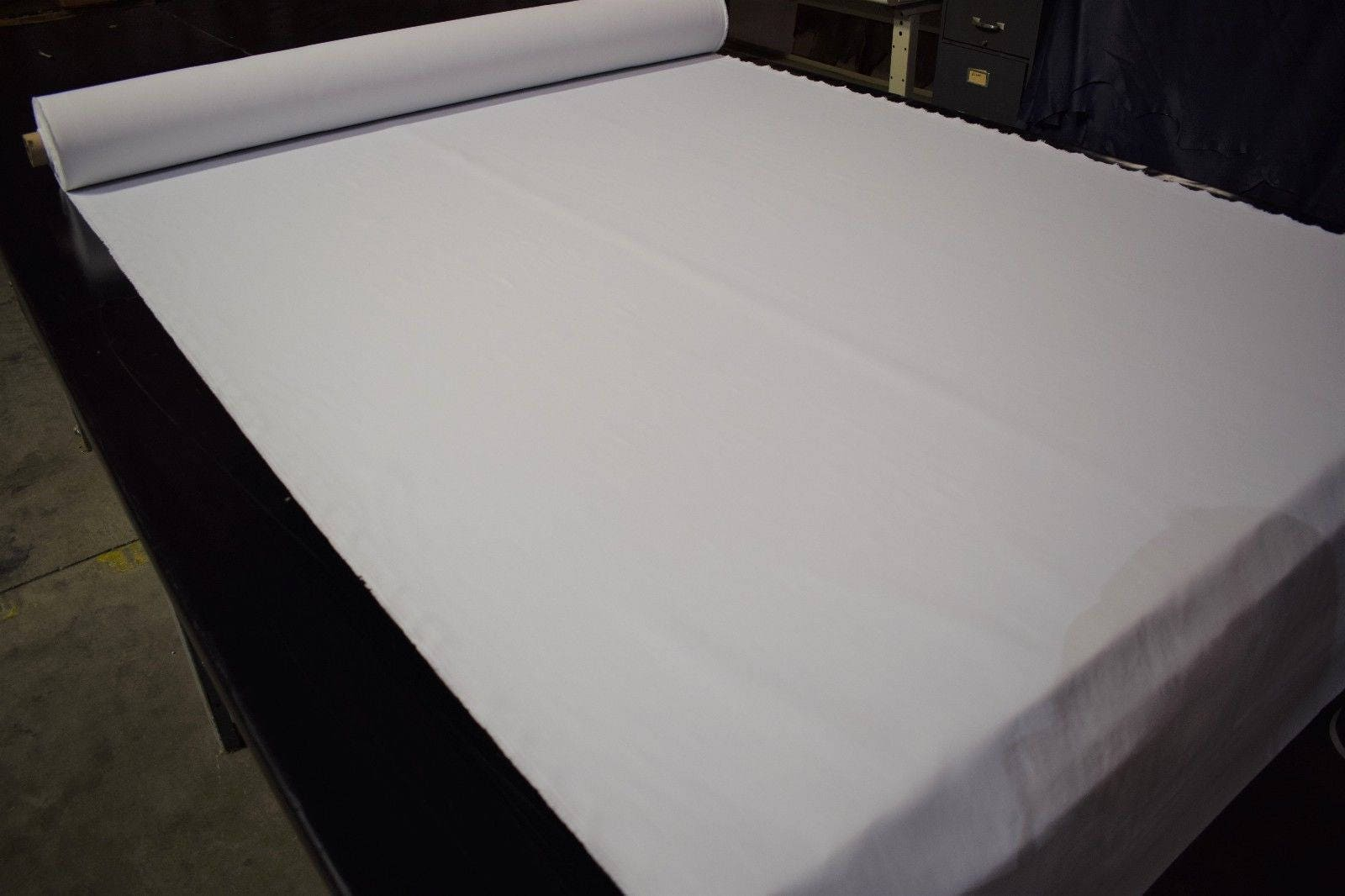 White Taslin Outdoor Fabric 59 Wide Nylon Outerwear Water ...