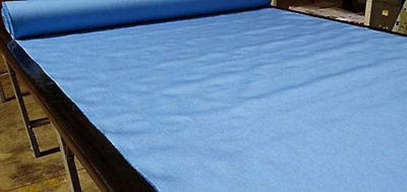Light Blue Fabric 1000D Cordura Nylon By The Yard 60 Wide Water Repellent DWR