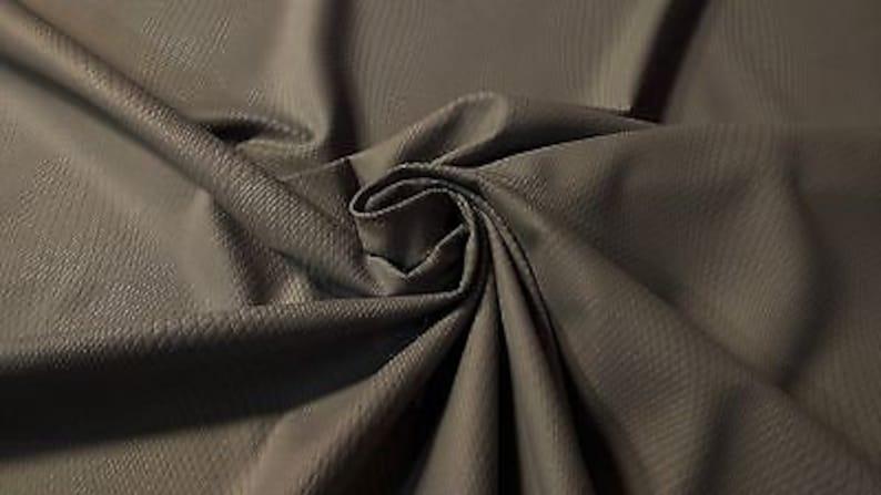 Light Gray Automotive Woven Velvet Upholstery Fabric 62W OEM Interior Soft A18