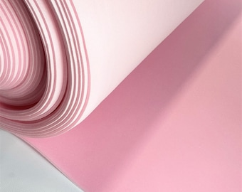"""1/4"""" Pink Scrim Cloth Backed Sewing Premium Foam Pleating Padding Upholstery 59"""""""