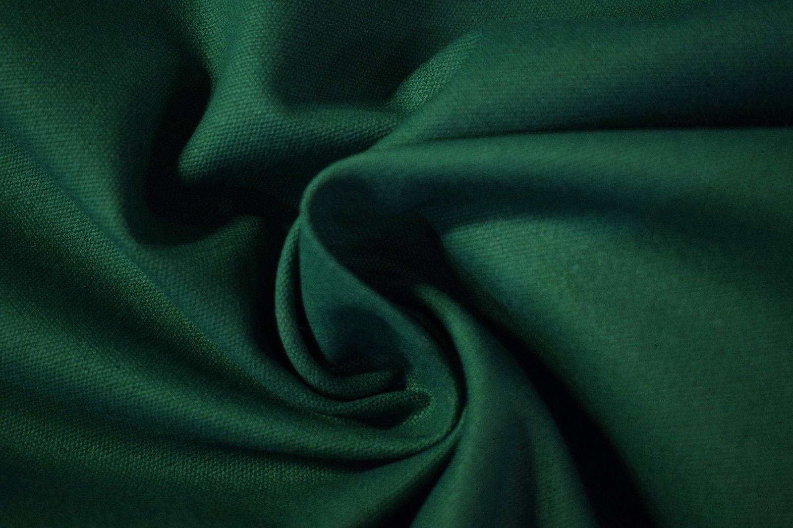 """Cotton Poly Twill Canvas Fabric Golden Yellow  6.5 Oz 61/"""" Upholstery"""