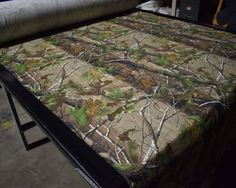 "Realtree AP Cotton Poly Blend Twill Camo Fabric 62"" Wide By The Yard Camouflage  FR"