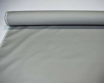 """Light Gray Arcadia Outdoor UV Awning Marine Boat Cover Fabric 60"""" Wide DWR By The Yard"""