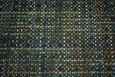 Blue Bronze Canvas Tweed Fabric 55w Seat Upholstery Church Pew Auto U 7