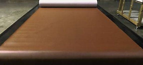 """Marine Vinyl Fabric Saddle Brown 15 Yards Outdoor Car Boat Upholstery 54/"""" Wide"""