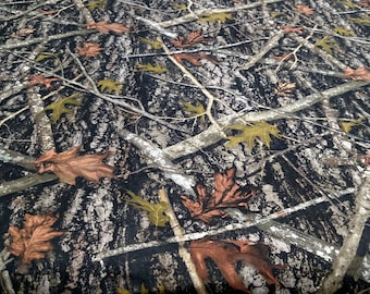 """True Timber New Conceal Camouflage 60"""" Wide Cotton Canvas Duck Fabric Hunting Camo"""