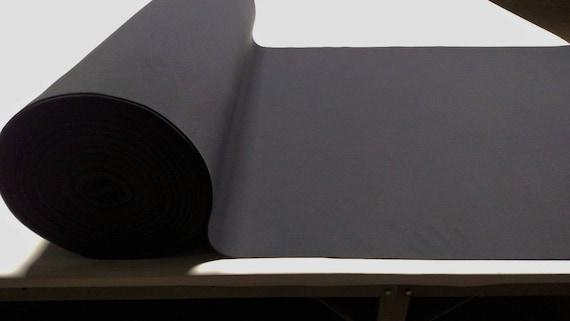 "Upholstery Auto Pro Black Headliner Fabric 3//16/"" Foam Backing 60/""L X 60/""W"