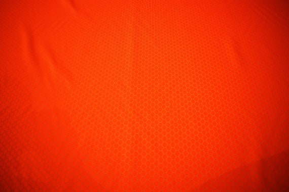 """Pure Cotton Canvas Duck Fabric Orange By The Yard 56/"""" W Upholstery Water Repel"""