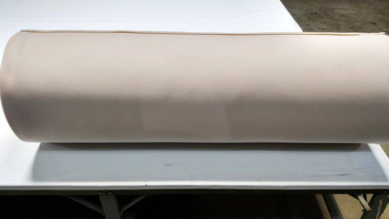 Off White Upholstery Auto Pro Headliner Fabric 316 Foam Backing 108 Long X 60 Wide