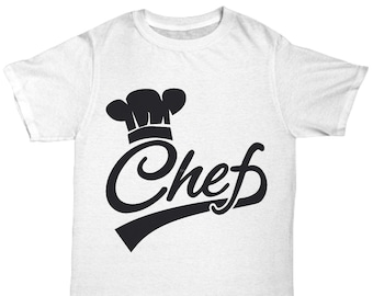Chef Tee, mom, cooks, bakers, grill master, bbq, barbecue, chef, dad, grilling, cookout, grill, gift idea, chef, kitchen, pastry, cordon