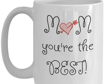 Mom's the best | Mothers Day Mug | Mother's Day Gift | Gift from Son Or Daughter | Funny Gift For Mom | Mug for Mom | Gift for Mom