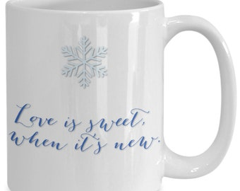 Newlyweds first christmas 2018 coffee mug for him