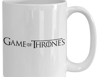 Game of thrones coffee mug for the fan of either game of thrones tv series or video game