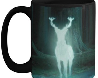 Harry Potter Always Patronus Ceramic Coffee mug gift for the true fan.