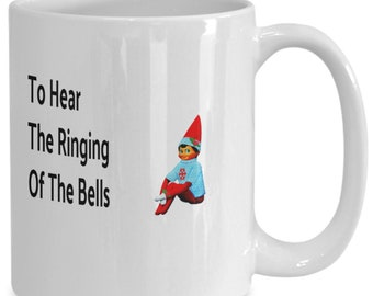 Why does the elf on the shelf want to sneak into your school coffee mug
