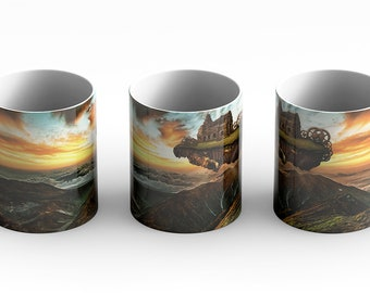 Vantage Point Coffee Mug is a sci-fi lovers dream. A little steampunk for the steampunk enthusiast.