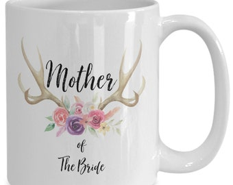 Mother of the bride White Ceramic Coffee Mug |Wedding Gift | Engagement Gift | Anniversary| Newly Weds| Couple| Bride| Groom|