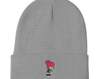 Zombie Girl Knit Beanie