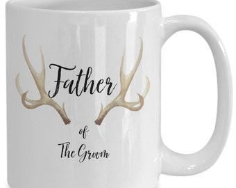 Father of the bride White Ceramic Coffee Mug |Wedding Gift | Engagement Gift | Anniversary| Newly Weds| Couple| Bride| Groom|