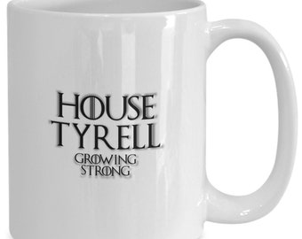 House of tyrell personalized game of thrones coffee mug for the fan of either game of thrones tv series/ video game