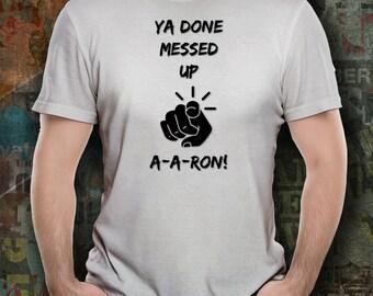A-A-RON Comedy Tee